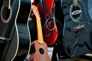 Лирические песни на укулеле